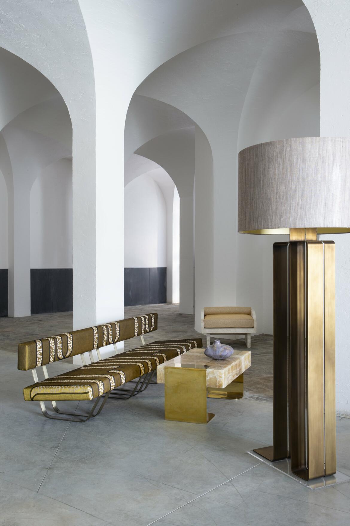 Lutetia, Équilibre, Météorite   Design Dimorestudio, Thierry Lemaire, Stéphane Parmentier © Jean-Marc Palisse