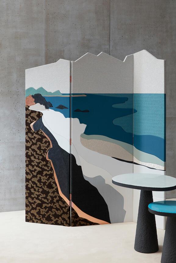 Palanque | Design Cuir au Carré © Gaëlle Le Boulicaut
